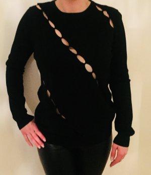 Versace Maglione lavorato a maglia nero