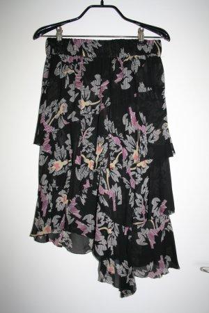 Isabel Marant Étoile Asymmetry Skirt black viscose