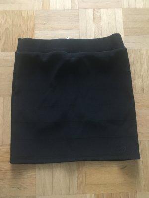 Cooler schwarzer Minirock von Tom Tailor, XS