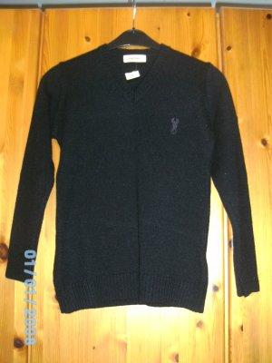 Cooler schwarzer Pullover mit Skorpion von DIESEL neu mit Etikett