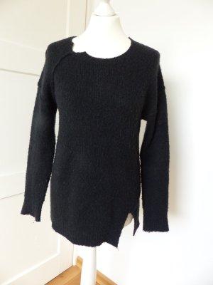 Cooler schwarzer SISLEY Pullover in Gr. 36