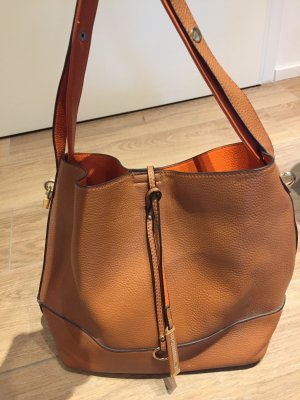 Shopper light brown-orange