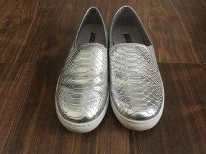 Cooler Sneaker in Silber