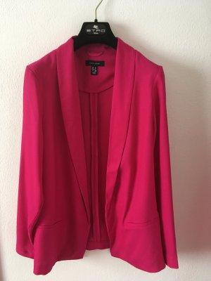 New Look Blazer stile Boyfriend magenta-rosa Viscosa