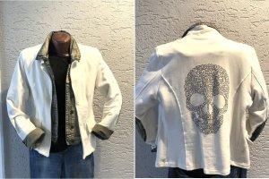 Cooler Sweatblazer mit integrierter Jeansjacke