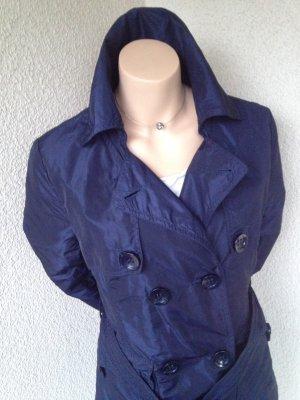 Trenchcoat donkerblauw