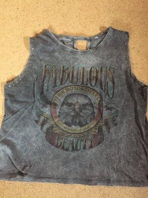Cooles, ärmelloses Shirt