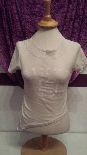 cooles beige nude farbes Shirt von Madonna, Gr. M