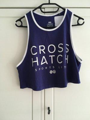 Cooles Cropshirt von Crosshatch neu