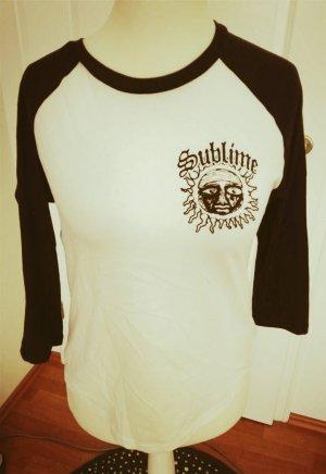 cooles dreiviertelärmeliges shirt gr. s