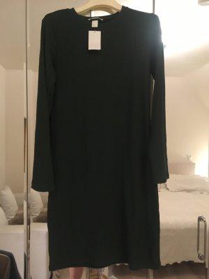 Cooles, dunkelgrünes Kleid von H&M in L. Ungetragen