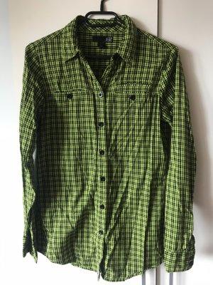 Fox Camisa de leñador negro-verde