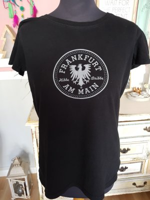 Camicia fantasia nero