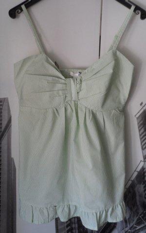 cooles H&M Top Gr. 36 Grün weiß gestreift NEU mit Etikett
