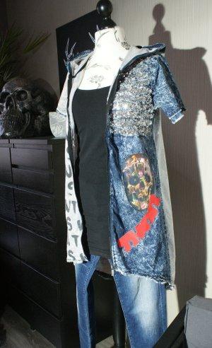 Camicia con cappuccio multicolore Cotone