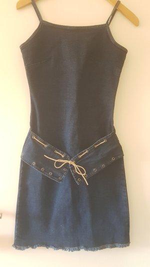 no name Denim Dress dark blue