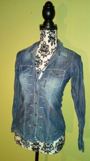 cooles jeanshemd von pepe jeans