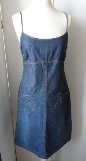 Zero Denim Dress blue cotton
