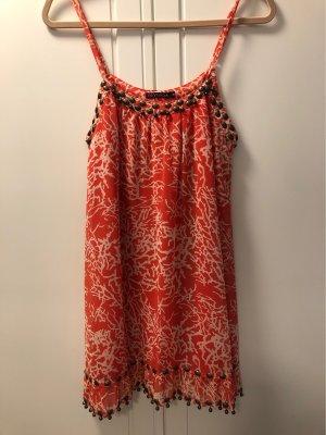 Cooles Kleid mit Korallen Muster und Verzierungen