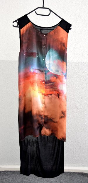 cooles Kleid von Y.A.S mit Planetenmuster