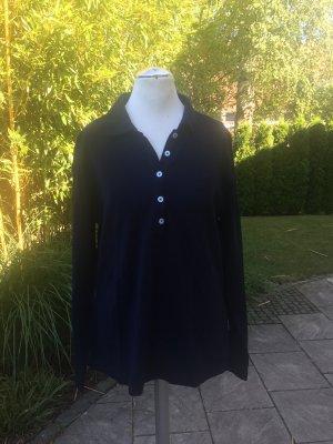 Bogner Jeans Polo shirt donkerblauw Katoen