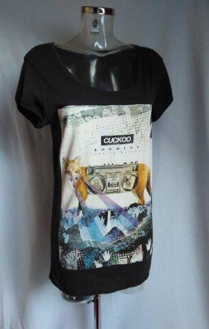 cooles Long Shirt mit Fuchs Motive! Neu!