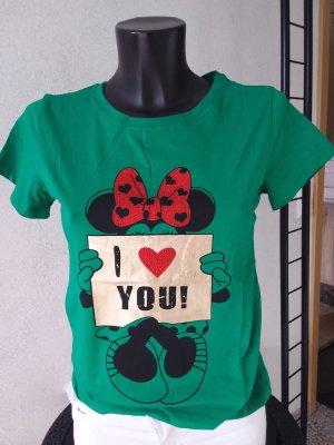 Cooles Mickey-Mouse-Shirt mit Rundhalsausschnitt