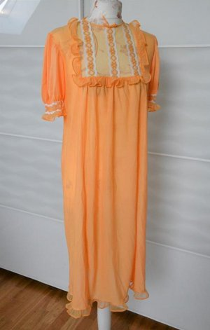 Negligee light orange-white