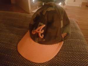 New Era Cap orange-khaki