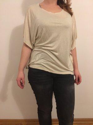 H&M Waterval shirt wit-beige