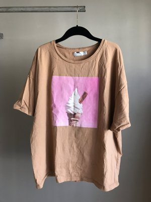Topshop Camiseta naranja-rosa