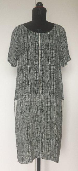 Cooles Printkleid von Second Female, black and white, Größe L