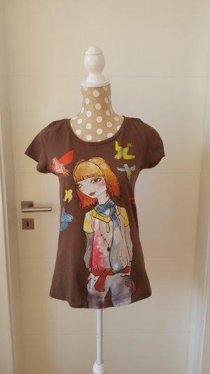 cooles Printtop, Größe M, Longtop, Mädchenprint von Zara