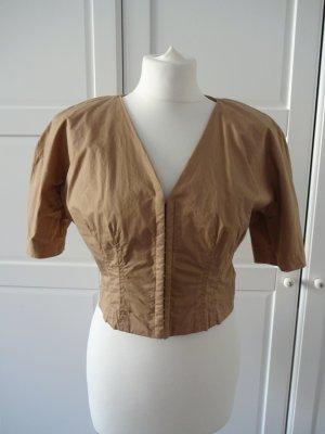 H&M Blouse Jacket beige cotton