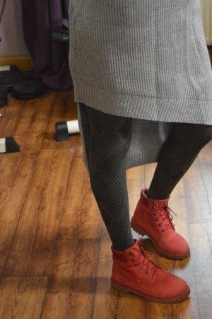 Cooles Rippenstrick Pulloverkleid Gr. 42 Pimkie