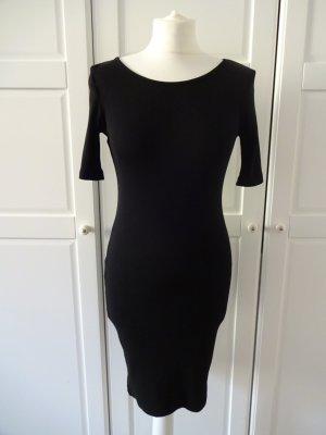 H&M Long Shirt black cotton