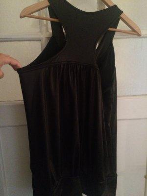 Cooles schwarzes Top oder Mini-Kleid
