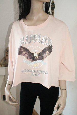 cooles Shirt * cropped Shirt * Oversize * Größe XL * einmal getragen *