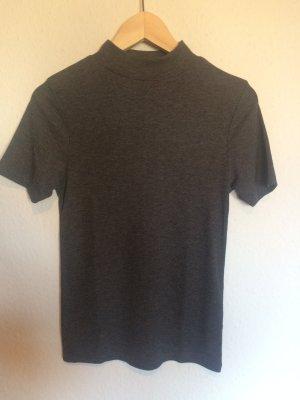 Cooles Shirt mit Kragen grau, Ripped, Rippenstruktur von  Atmosphere, Primark