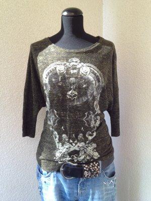Cooles Shirt mit Print von Zara - Gr. M