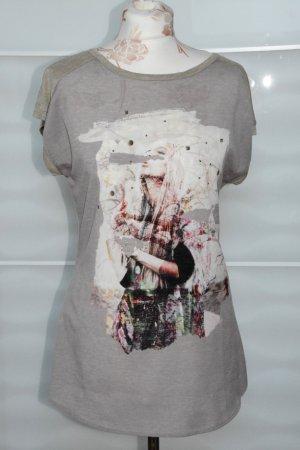 Cooles Shirt mit Print vorne Gr. M Promod