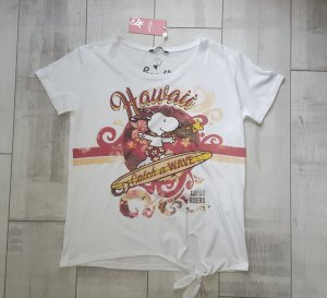 cooles Shirt mit Snoopy, Smile *Catch a WAVE*, Gr. S/M von Princes goes Hollywood