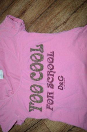 Cooles Shirt Rückenfrei Gr. 40 Glitzer Dolche&Gabbana