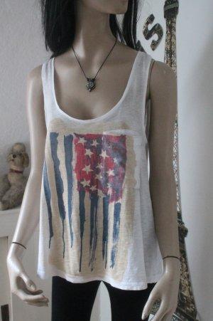 cooles Shirt * Top * Stars and Stripes * Größe M * einmal getragen *