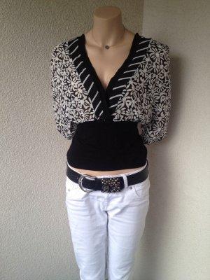 Bellissima T-shirt blanc-noir