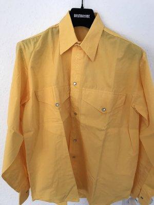Benetton Oversized shirt goud Oranje