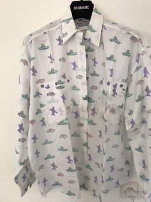 Usha Oversized shirt veelkleurig