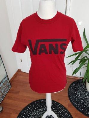 cooles shirt von vans gr.m/l rot