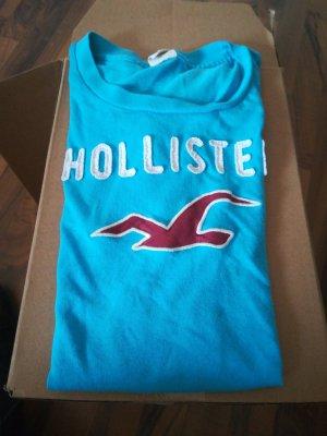 Hollister Print Shirt light blue