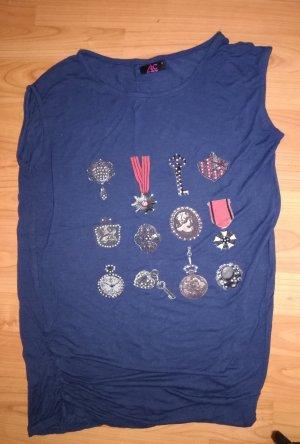 Ann Christine T-shirt bleu foncé